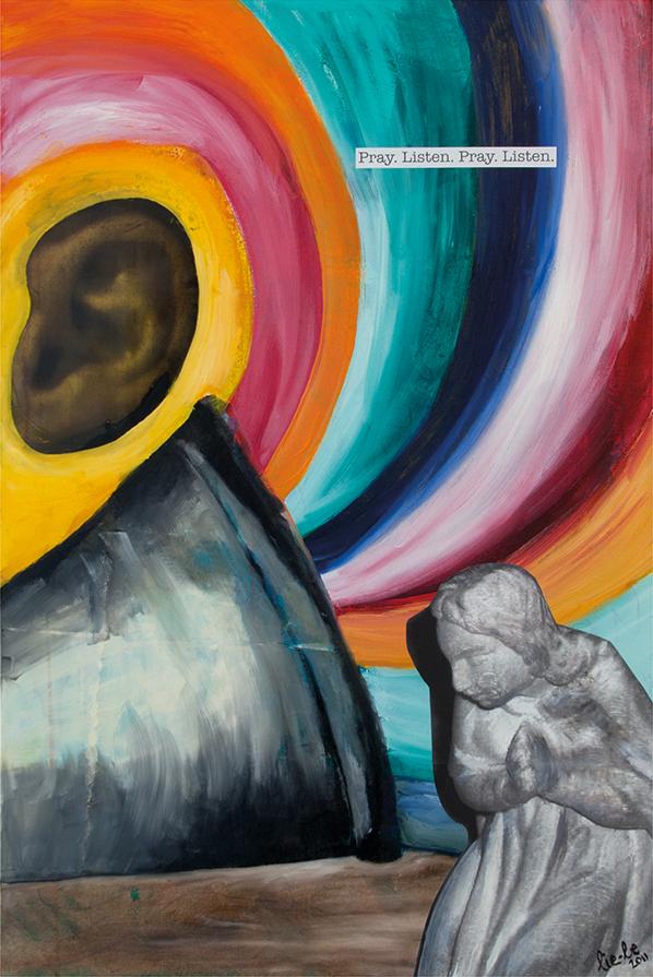 Smoke 90x60cm Oil on Canvas 2011 © Liesel Beukes