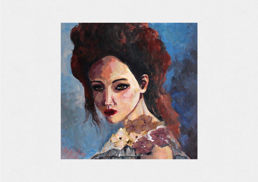 NINA MARJAT 50x50cm Acrylics on Canvas