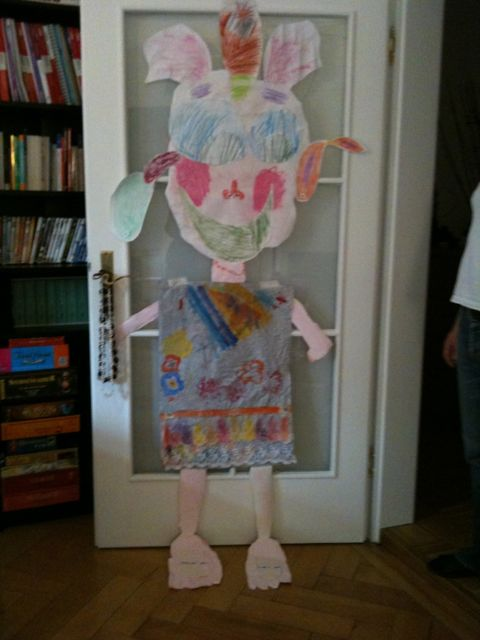 Emily the three eared giant (so that she can listen better) by Isabel