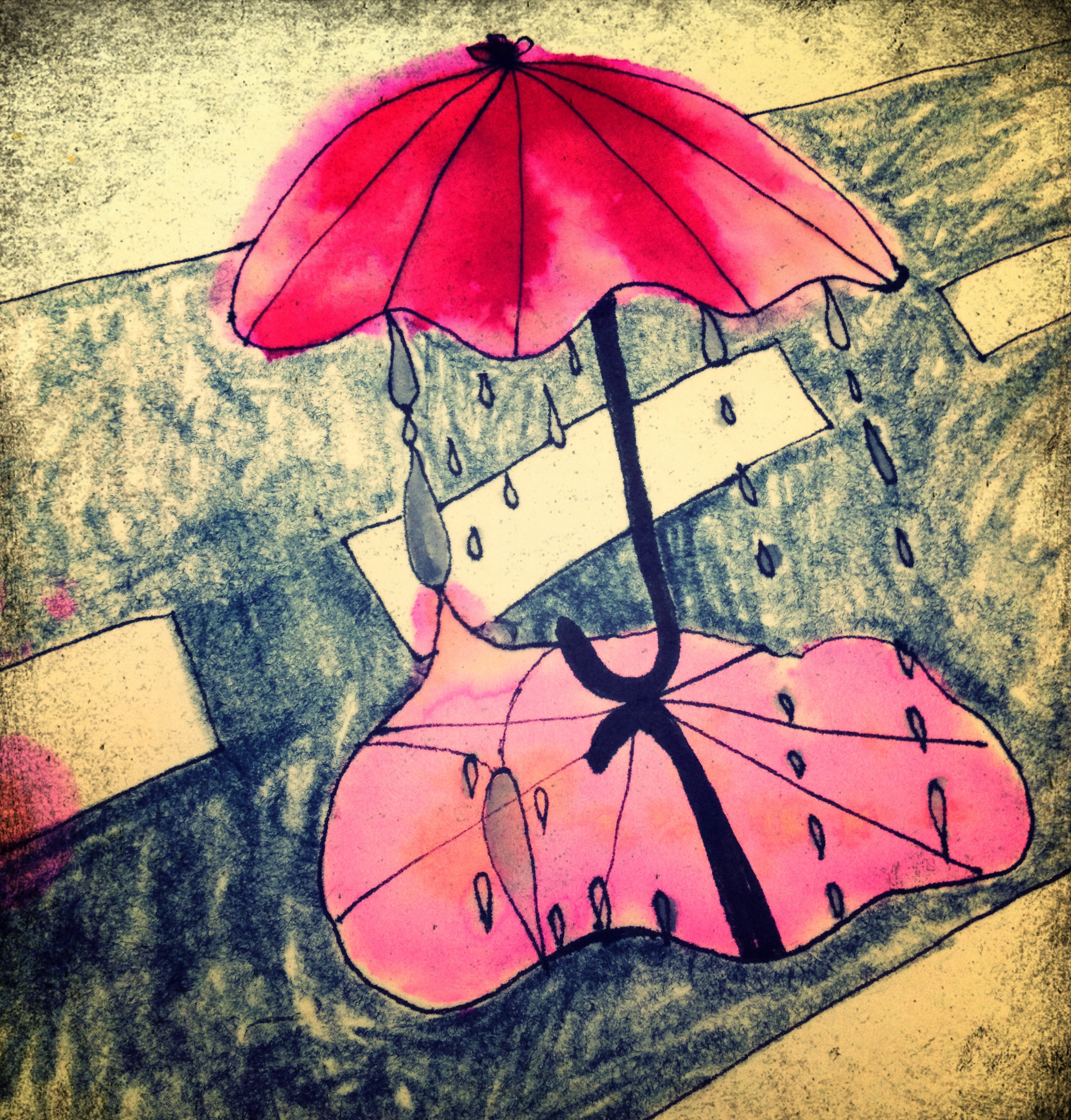 Crying Umbrella