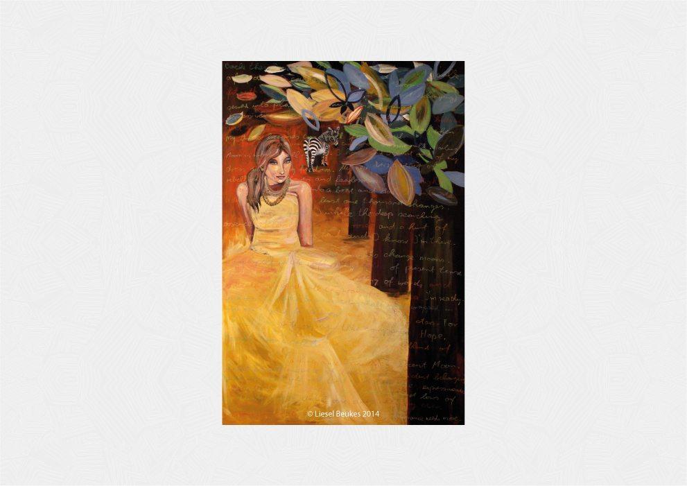 THE POEM 180x120cm Acrylics on Canvas