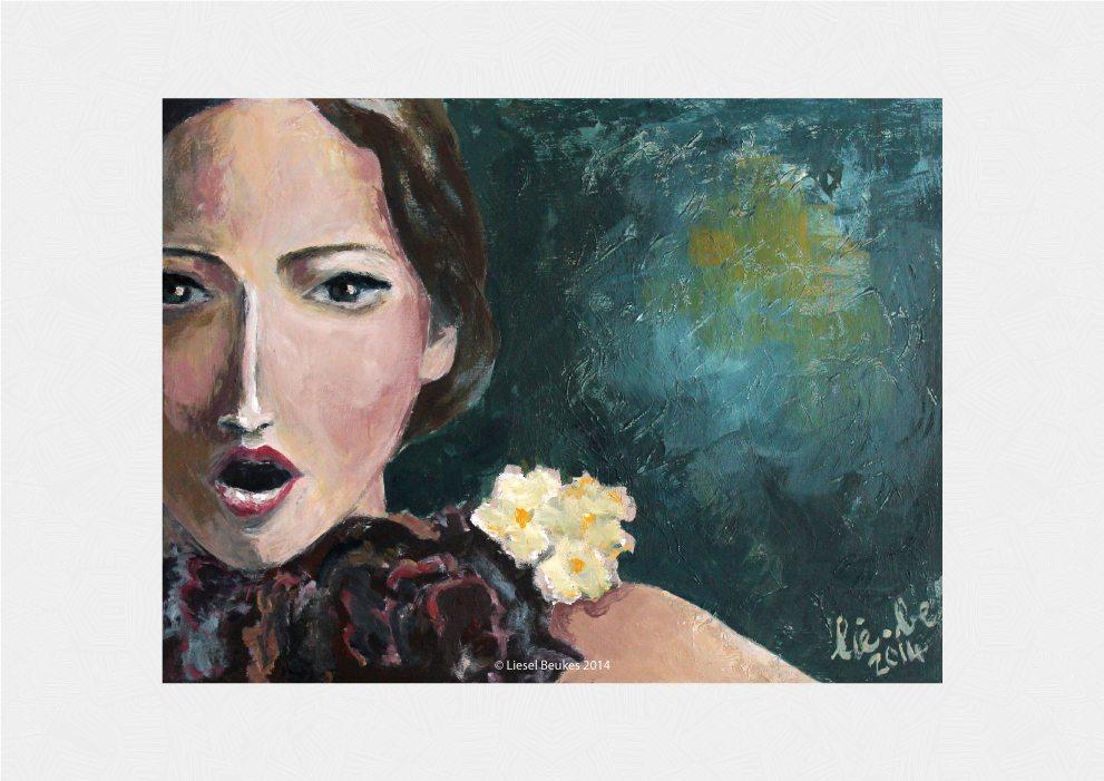 THE SONGBIRD 30x40cm Acrylics on Canvas