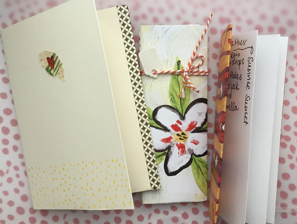 Little books - perfect for lists and prompts.