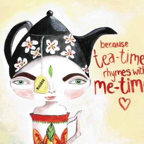 Me-Time with Miss Tea-Time
