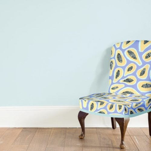 Lielie's Exotic Papaya Chair